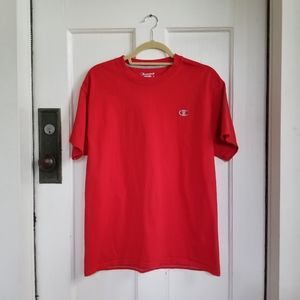 Champion Red Men's Tshirt Size Large